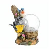 Songbirds Globe Solar Lamp