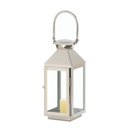 Small Manhattan Stainless Steel Candle Lantern