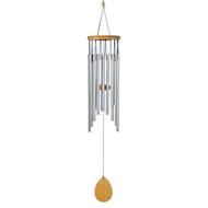 Classic Waterfall Wood Metal Wind Chime