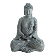 Peaceful Meditating Buddha Statue