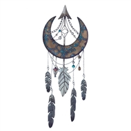 Crescent Moon Dreamcatcher Decoration