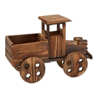 Rustic Antique Truck Wood Planter