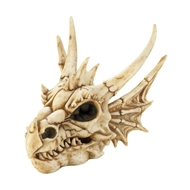 Horned Dragon Skull Stash Box