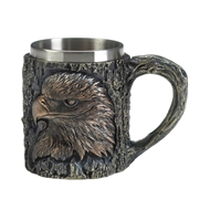 Patriotic Eagle Motif Decorative Mug