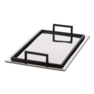 Rectangular Modern Aluminum Serving Tray