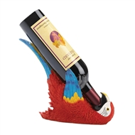 Colorful Tropical Parrot Wine Bottle Holder