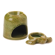 Green Turtle Deco Fragrance Oil Warmer