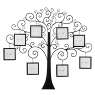 Family Tree Photo Wall Decor Plaque
