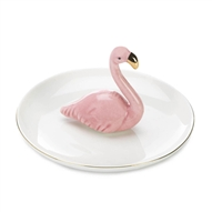 Pink Flamingo Ring Holder