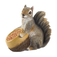 Squirrel And Acorn Bird Feeder