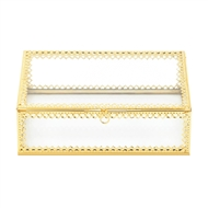 Gold Motiff Jewelry Box