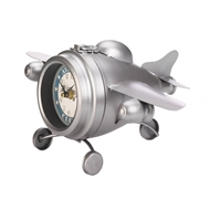 Aviation Club Jet Plane Desk Clock