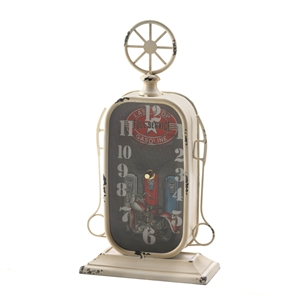 Americana Gas Station Desk Clock