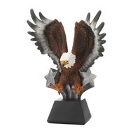 Bald Eagle In Flight Statue