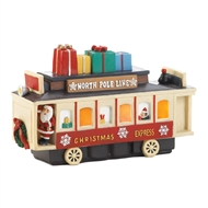 Light Up Vintage Christmas Express Train