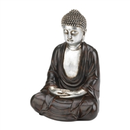 Peaceful Sitting Meditating Buddha Figurine