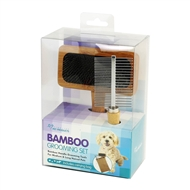Fine Life Bamboo Pet Grooming Set