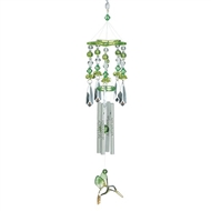 "Green-wing Hummingbirds Chime 13"" Long"