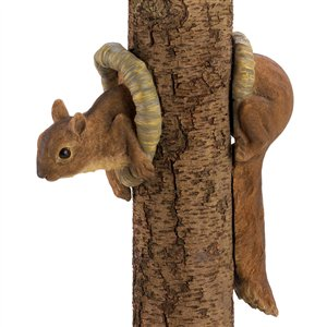 Brown Woodland Squirrel 2PC Tree Decor