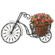 Tricycle Iron Plant Stand