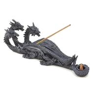 Triple-Headed Dragon Incense Holder