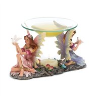 Twin Fairies Doves Fragrance Oil Warmer