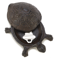 Turtle Cast Iron Key Hider