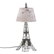 Eiffel Tower Parisian Table Lamp