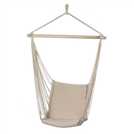 Cotton Padded Swing Chair 200 lb. Cap