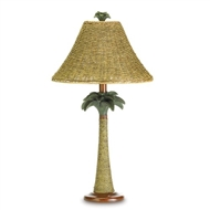 Bahama Palm Tree Table Lamp