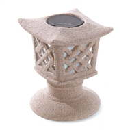 Ceramic Solar Pagoda Light