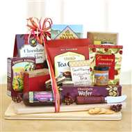 Thanksgiving Cheese Snack Gift Board