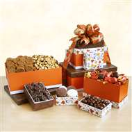 Wonderful Autumn Sweets Gift Tower