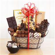Chocolate Delights Gift Basket