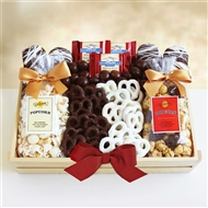 Crunch Time Sweet Snacks Gift Tray