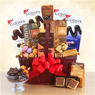 Godiva Chocolate Connoisseur Gift Basket