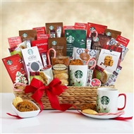 Starbucks Super Spectacular Holiday Gift Basket