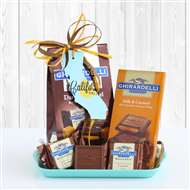 California Ghirardelli Chocolate Gift Tray