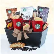 Starbucks Coffee Gift Basket #5844