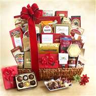 Holiday Gourmet Celebration Gift Basket