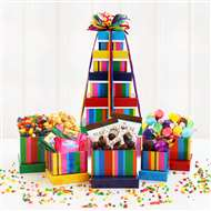 Birthday Bonanza Gift Tower of Treats