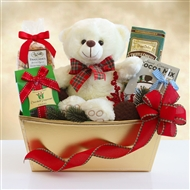 Beary and Bright Holiday Gift Tray
