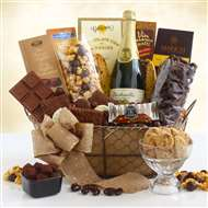 Sparkling Chocolate Celebration Gift Basket