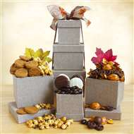 Festive Autumn Gift Tower of Treats