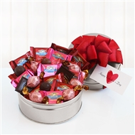 Chocolate Lover's Valentines Assortment Gift Tin