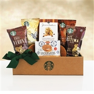 Starbucks Coffee & Biscotti Sampler Gift Box