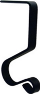 5 In. Black Metal Mantel Hook