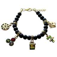 Casino Charm Bracelet in Gold