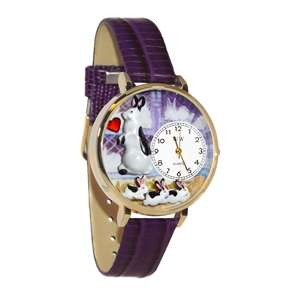Bunny Rabbit Watch in Gold (Large)