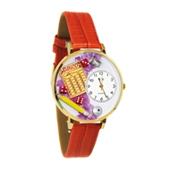 Bunco Watch in Gold (Large)
